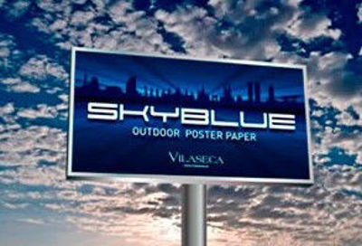 Picture of SkyBlue Poster Paper 120