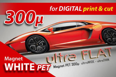 Picture of Guandong Magnetic Rolls - Magnet White PET Ultra-Flat for Digital Printing