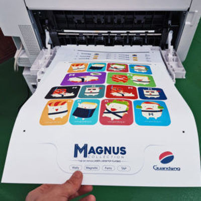 Picture of Guandong Mr. Magnus - Magnet White PET sheets A3 plus