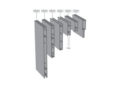 Picture of Alusign Outdoor Face Panel Profile