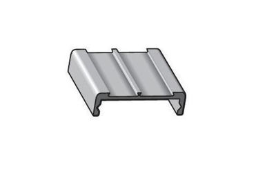 Picture of Alusign Indoor Face Panel Profile, 2 Sidings - Dymo