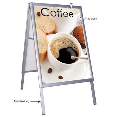 Picture of M&T Displays A Board - Weatherproof