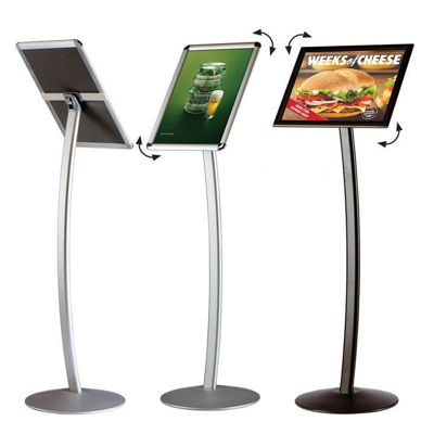 Picture of M&T Displays Curved Menuboard