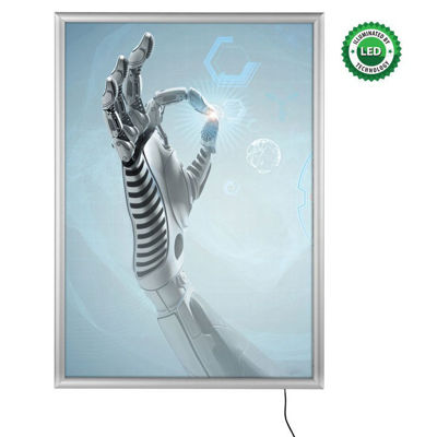 Picture of M&T Displays Clik-clak Snap Frames LED - Best Buy LEDbox