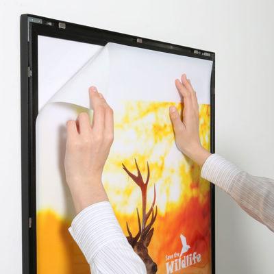 Picture of M&T Displays Clik-clak Snap Frames LED - LEDbox Magneco
