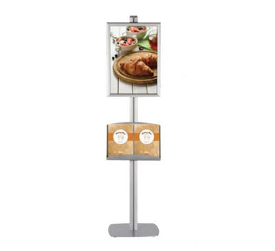 Picture of M&T Displays Free Standing Banner Set - Clik-Clak Frame